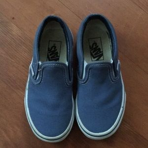 Blue Toddler Slip-on Vans
